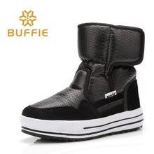 Buffie zimowe futerkowe buty modne ciepłe buty chłopięce czarne buty wodoodporne marki w stylu ładnie wyglądające damskie buty śniegowe