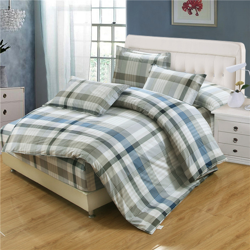 4pcs King Size Cartoon Bedding Sets Queen Size Twin Size