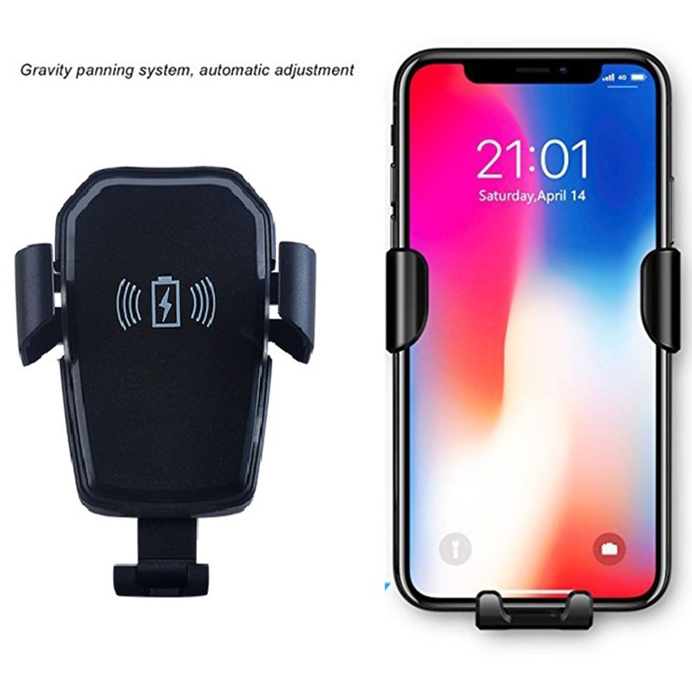 Автомобильный держатель для телефона с gps, портативный автомобильный держатель для мобильного телефона, автомобильный держатель HUD, дизайн, автомобильное беспроводное зарядное устройство QI для iPhone