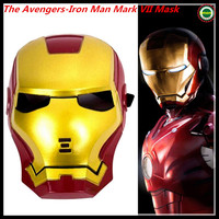Free Shipping Famous Movie Face Mask Helmet face mask luminous iron man,Iron Man helmet Wearable masks