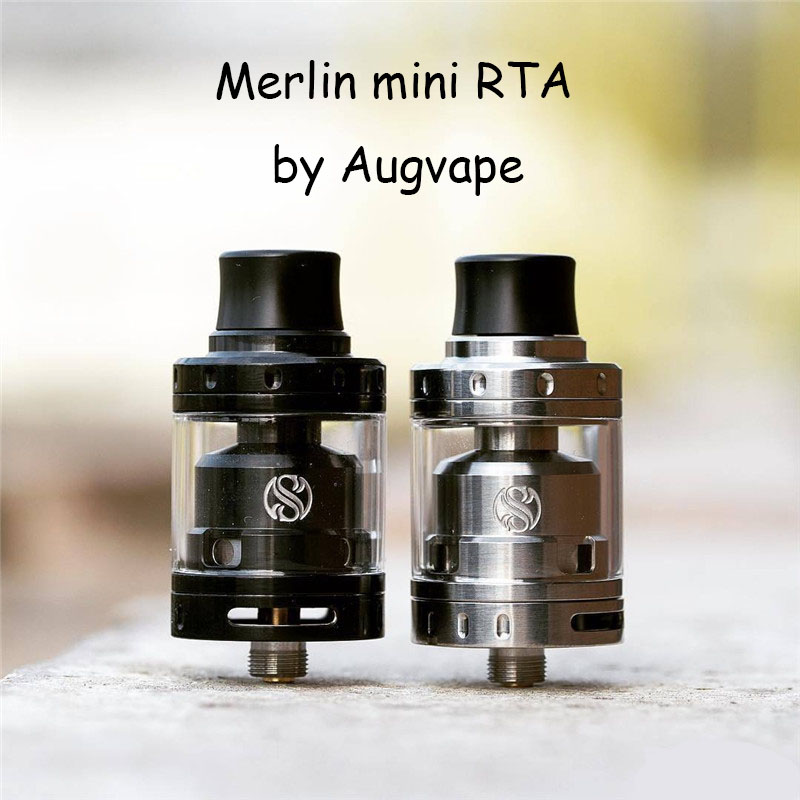 Augvape Merlin Mini RTA & RDA Top Cap Kit