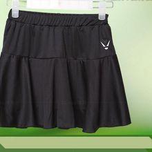 Female Women's Flounce Knit Pure Baseline Tennis Skirt/ Cheerleading Skirt/ Sports Skirt/ Skort/Athletics Skirts/Badminton skort