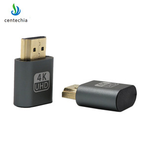 VGA Virtual Display Adapter HDMI DDC EDID Dummy Plug Headless Ghost Display Emulator Lock plate 1920x1080 New generation@60Hz