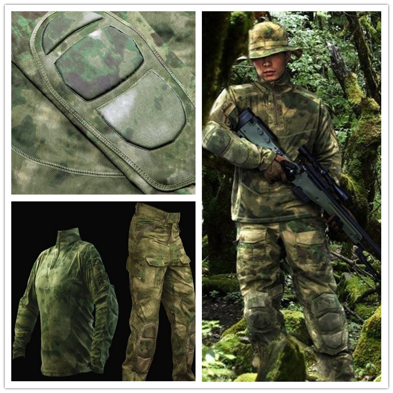 A-TACS FG Tactical Combat Shirt & Pants Gen2 Unform Suit BDU US Military Assault a tacs fg military uniform combat a tacs uniform bdu military uniform for hunting wargame coat pants