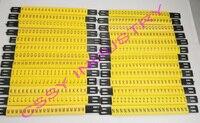 28 шт./лот бесплатная доставка MS-90mm кабель маркер линии и 4мм2 Плоские кабельные маркеры ABCDFEFGHIJKLMNOPQRSTUVWXYZ +-разные Буквы