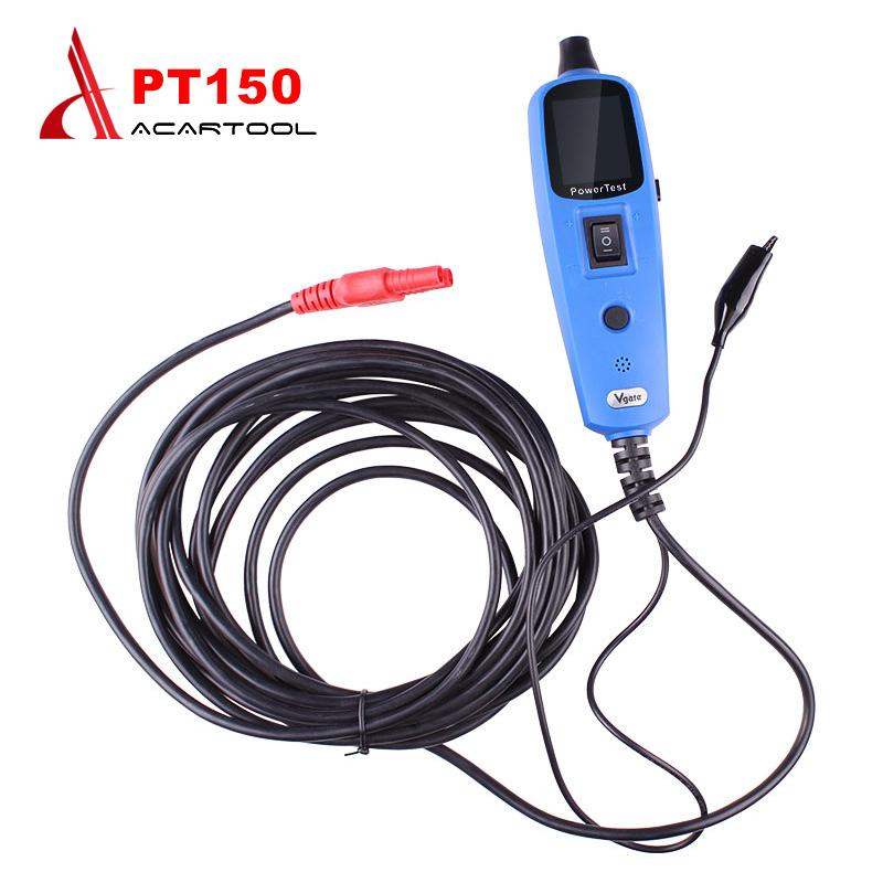 Original Vgate PT150 Electronic Circuit Tester Power Probe Diagnostic Tool Better Than YD208 PS100 VSP200 Electrical Scan System цена