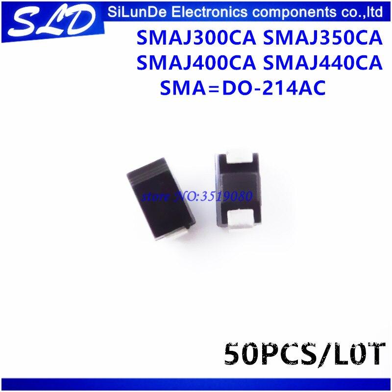 Pack of 100 ESD Suppressors//TVS Diodes 400W 33V Unidirect P4SMA33A-E3//61
