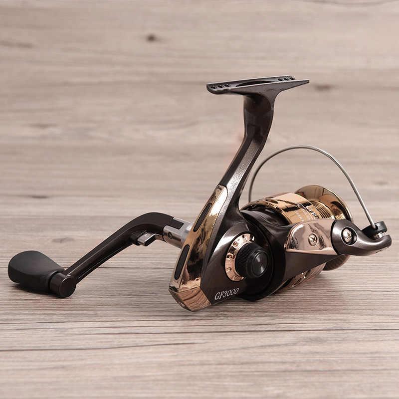 Рыболовная катушка для спиннинга рыболовная катушка для левой и правой руки 5:2:1 рыболовное колесо 1000-5000 Серия Высокая скорость для приманки литья скала