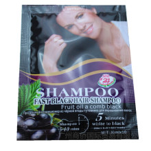 Hair Color Fast Black Hair Shampoo fruit oil a Comb Balck 5 Minutes Black Hair Dye 10pcs Hair Shampoo