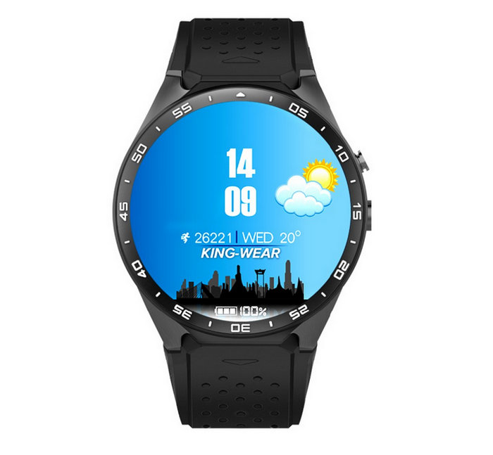 Zimingu kw88 wifi smartwatch relojes inteligentes android ios google play gps ma