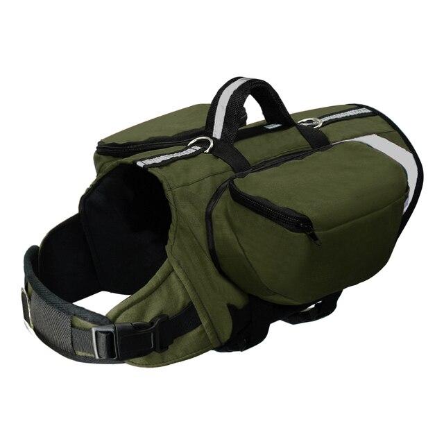 Dog Saddlebag-Harness