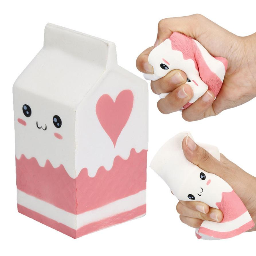 Largest Face Milk Box Banana Ball Squishy Slow Rising Jumbo Pig Cotton Soft Skuishy Scented Bread Cake Kid Fun Toy Gift