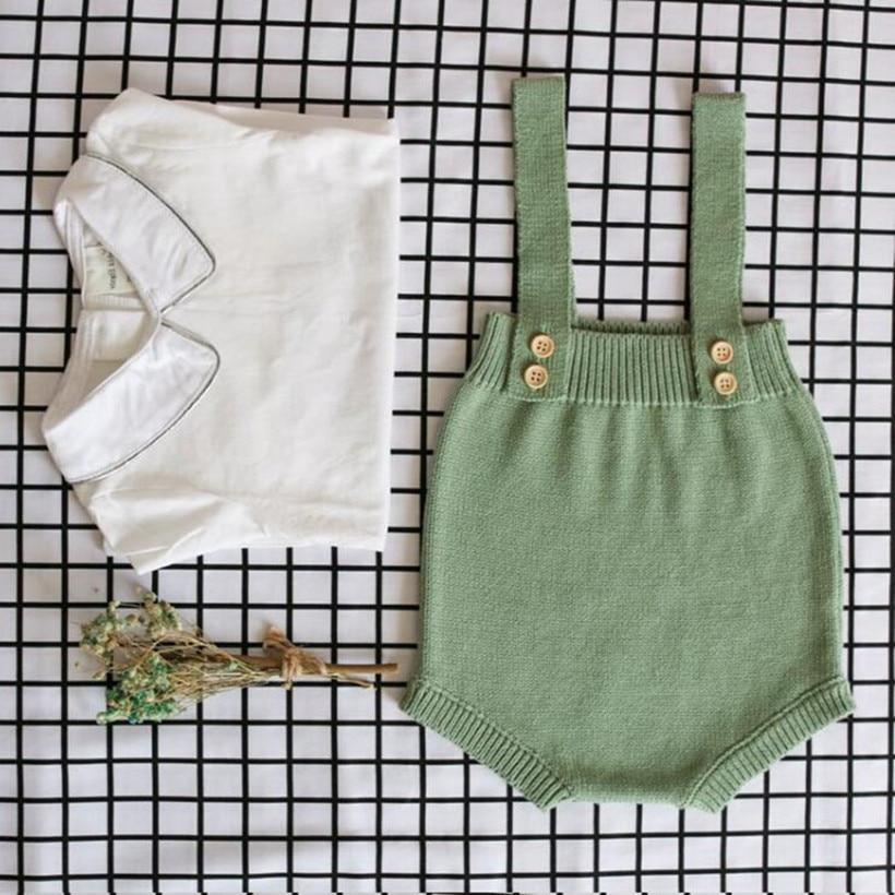Трикотажная Одежда для новорожденных, хлопковая одежда без рукавов для маленьких мальчиков, детский комбинезон ребенок, комбинезон для мал...
