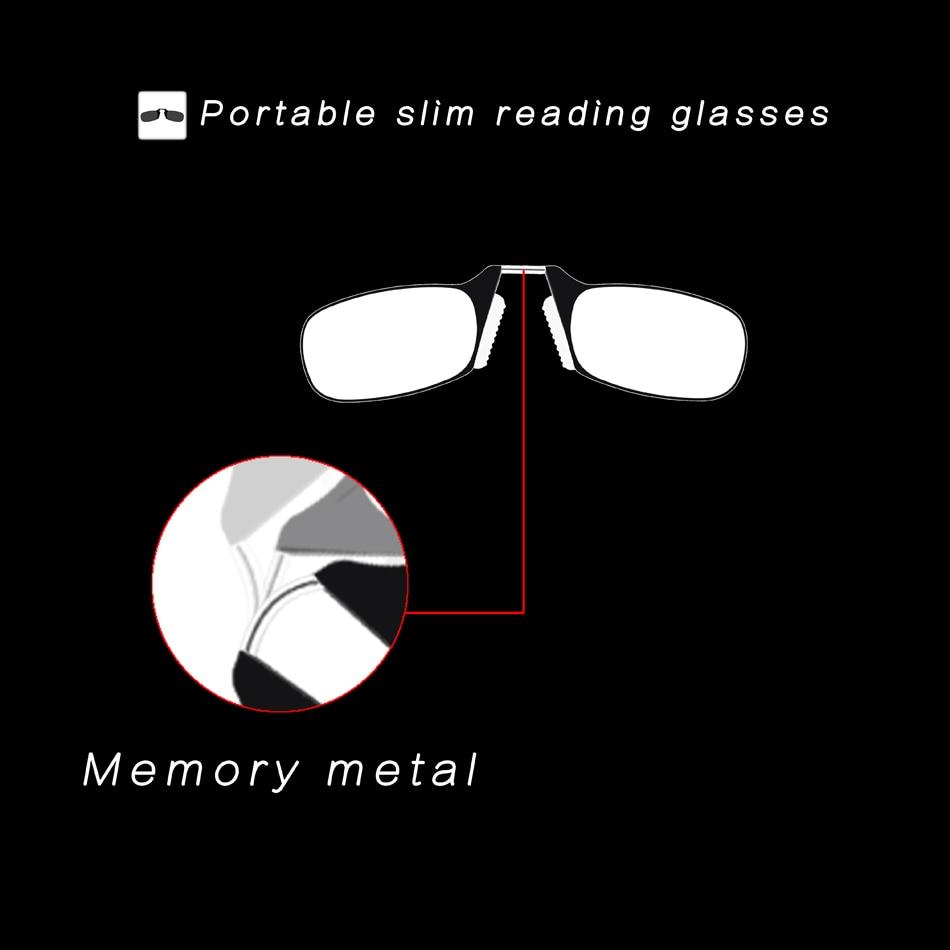 neus leesbril herenbril vergrootglas voor - Kledingaccessoires - Foto 4