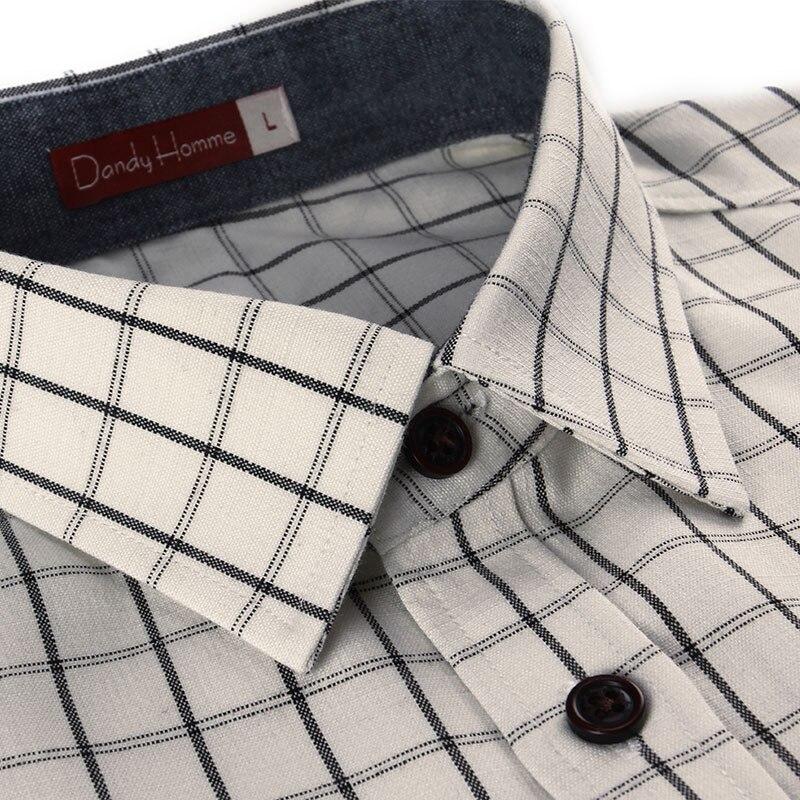 Homme Taille Manches Patchworh Chemises Plus Hommes Slim Dandy Longues Casual La Fit Clothing2016fashion À Breasted Carreaux Marque Simples 4wxTdB