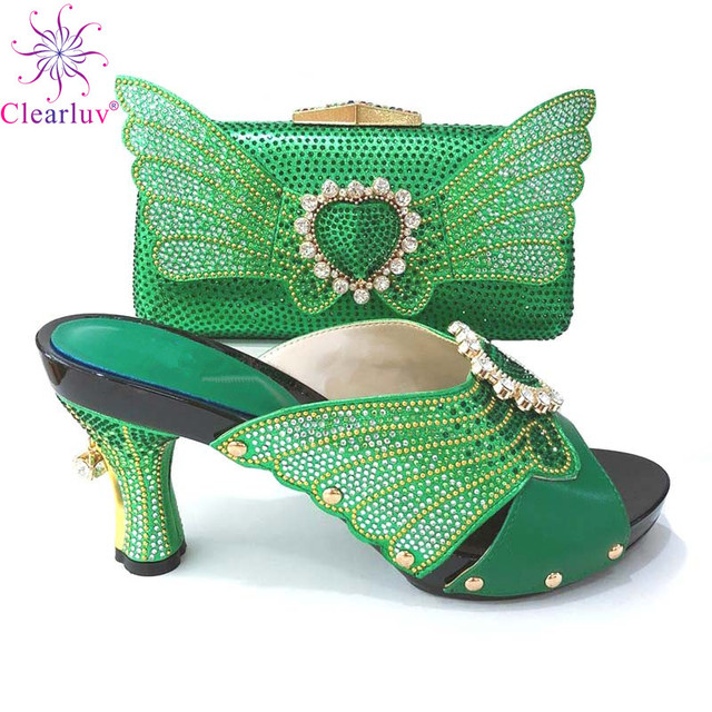 Latest Italian Designer Shoes and Bags Matching Set Women Shoes and Bags To  Match Set Italy African Women Wedding Shoes with Bag 8ba02cd8f421