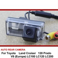 FOR Toyota Land Cruiser LC 100 120 200 V8 Car Rear View Camera / Reversing Park Camera for sony HD CCD Night Vision + Wide Angle