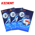 AZDENT 3 Boxes 3D Teeth Whitening Strips 14 Pouches/28 Strips Tooth Whitener Profession Effects Tooth Whitening Bleaching Advanc