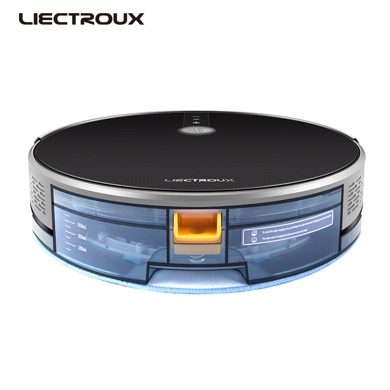 Image 5 - LIECTROUX C30B Robot Vacuum Cleaner 3000Pa Suction 2D Map Navigation Smart Memory WiFi App Electric Water Tank Wet Mopping-in Vacuum Cleaners from Home Appliances