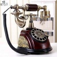 Top, disco rotante telefono antico Giardino Europeo retro telefono casa telefono ufficio telefono Decorazione Della casa di arte Rotate Dial