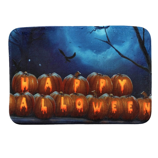 Halloween gifts Christmas Welcome Mats Bathroom Kitchen Doormats Bath Mat Anti-Slip Tapetes para quarto Carpet on the floor