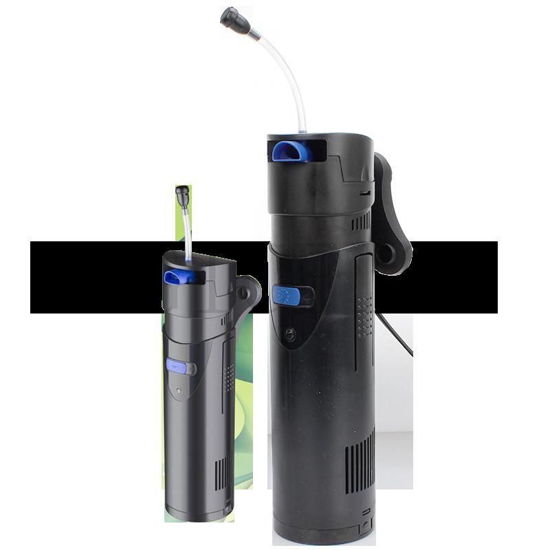 Multi function 4 in 1 Aquarium Internal UV Filter Fish Tank Oxygen Pump Ultraviolet Germicidal Lamp UV lamp