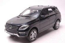 * Dark Blue 1:18 Car Model Benz M-klasse ML M Class 2015 SUV Diecast Model Car Luxury Gifts Miniature M-class Modell Auto