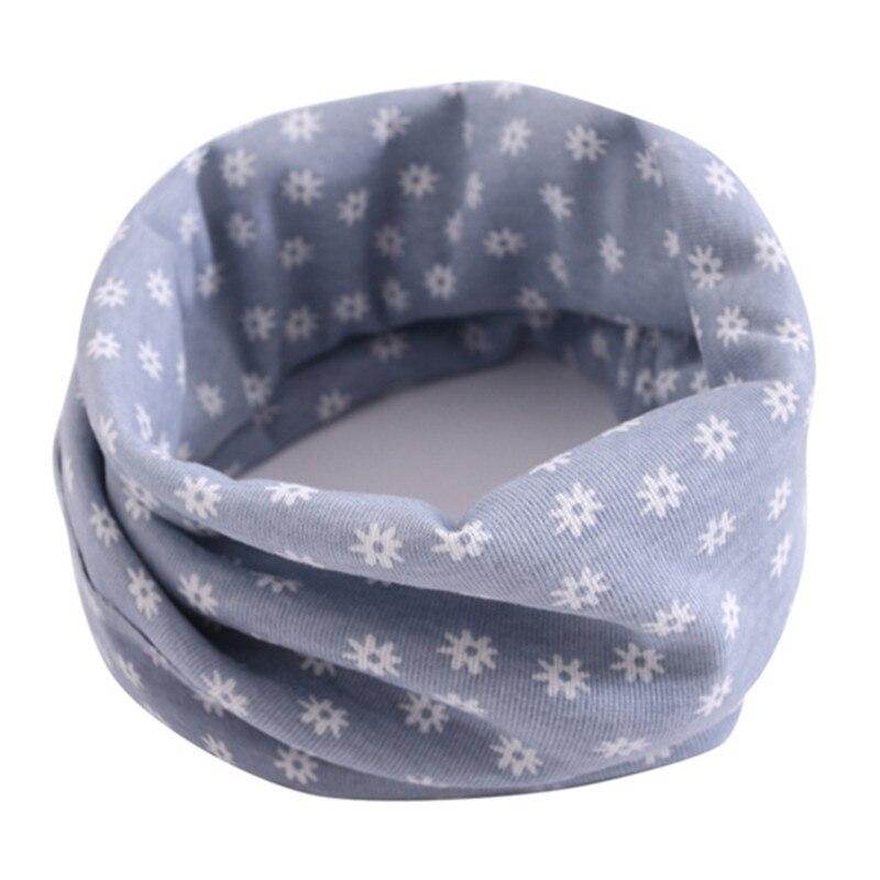 Весенний детский хлопковый шарф, теплый шарф для маленьких детей, осенне-зимние шарфы с героями мультфильмов для мальчиков и девочек, детский воротник с круглым вырезом, волшебный шейный платок - Цвет: 23