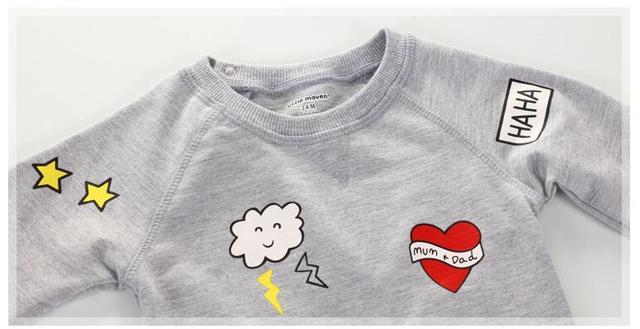 Kid's cotton long sleeve shirt