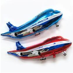 1 шт 85*45 см самолет мультфильм номер Фольга надувная модель игрушки мультфильм вечерние игрушки вечерние Hat игрушки Air День рождения для