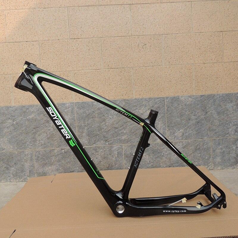 2019 NEW Full Carbon Mtb Frame 27.5er 1240g Cadre Carbone Carbon Mountain Bike Frame 27.5 Super Light Bicycle Frame Free Shippin
