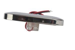 Image 2 - 12 فولت لليخت البحري RV LED علوي الضوء الأزرق/الأبيض المقاوم للصدأ مرساة ملحقات قارب مضيء