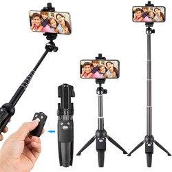 Selfie Stick statyw 40-cal bezprzewodowy pilot zdalnego i stojak na statyw Monopod dla iPhone X 8/8 Plus xiaomi huawei Bluetooth Selfie Stick