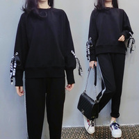 Spring Large Size 5xl 2 Piece Set Women Casual Hoodies+pants Conjunto Feminino Year old Female Costume Tracksuit Woman Suit