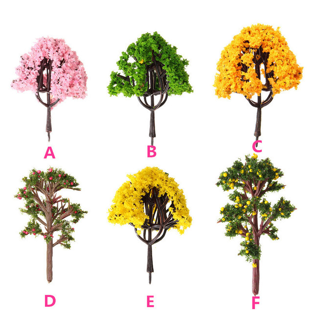 Merveilleux New Arrival DIY Potted Miniature Tree Plants Fairy Garden Accessories  Ornament Decor Micro Landscape Garden Display