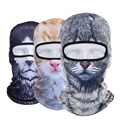 New 3D Animal Balaclava Outdoor Party Cycling Motorcycle Winter Hunting Windproof Ski Hat Snowboard Halloween UV Full Face Mask