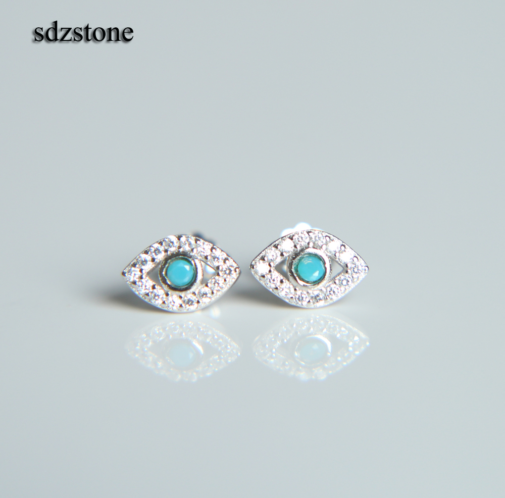 925 Plaqué Argent Labradorite Clous D/'oreilles wholesale 10 50 100 paires//Packs