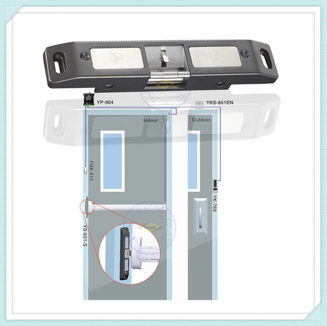 Electric Strike Lock For Push Panic Bar Exit Device Emergency Door + Lock Status & Electric Strike Lock For Push Panic Bar Exit Device Emergency Door + ...