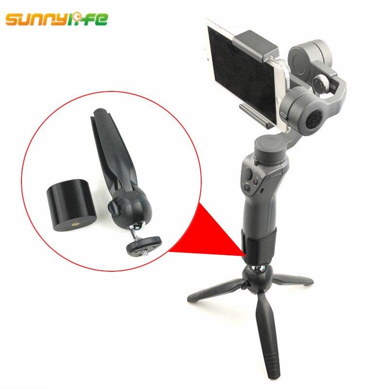 Sunnylife DJI Osmo Mobile 2 de mano del cardán estabilizador portátil soporte de trípode soporte de cámara accesorios para DJI Osmo Mobile 2 1