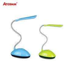 4 cores Mini LED Livro Lâmpada de Mesa Luz AAA Alimentado Por Bateria-Proteção para Os Olhos Candeeiro de Mesa de Estudo Crianças