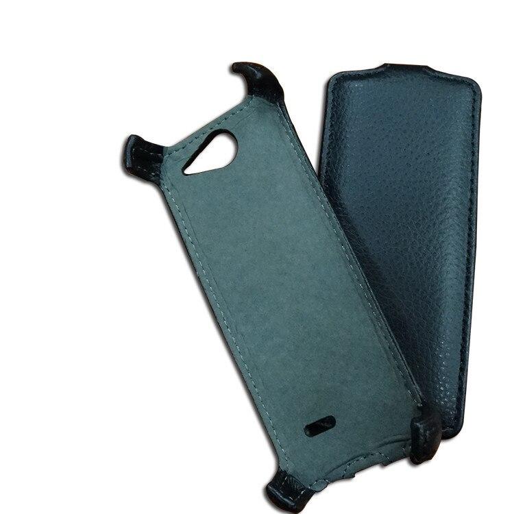 imágenes para Enchufe de fábrica de Calidad Superior Del Cuero Del Tirón para philips xenium x5500 Cubierta del teléfono + Free