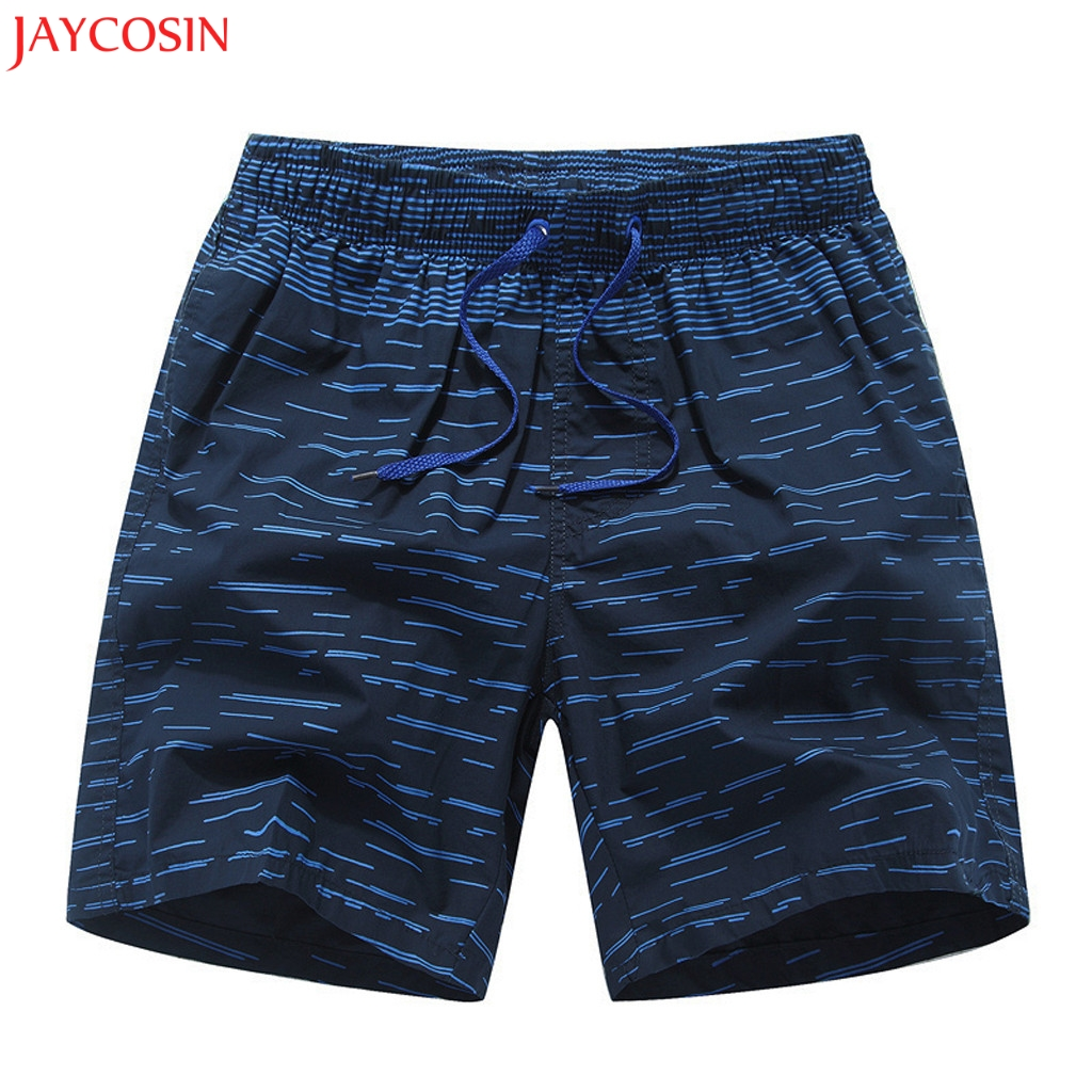 Jaycosin Mens Swimwear Swim Shorts Trunks Beach Board Shorts Plus Size Printed Loose Beach Running Sports Surffing Shorts Z0302 Cool In Summer And Warm In Winter Board Shorts