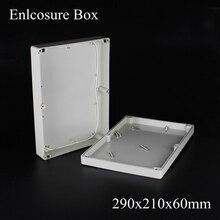 Горячий Водонепроницаемый Пластиковый Корпус Электронного Проекта Корпус Box 290x210x60 мм бесплатная доставка