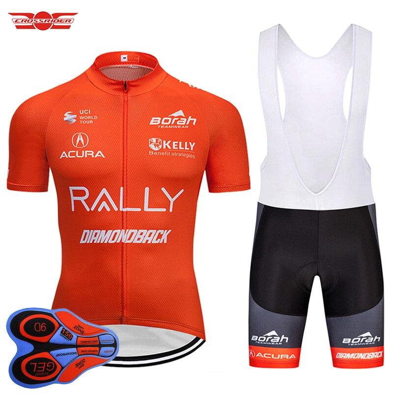 2018 Tour de France Pro Team Cycling Jersey Bike Shorts Set Quick-Dry MTB  Bicycle Clothing Bike Clothes Mens Maillot Culotte f20702c1d