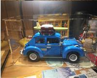 High transparent acrylic display box Model Cover Customized toy dustproof box Compatible technic 10252 car