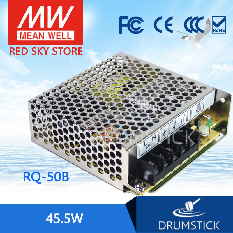 цена на Selling Hot MEAN WELL RQ-50B meanwell RQ-50 45.5W Quad Output Switching Power Supply
