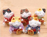 Lucky Cat Ornaments Large Japanese Ceramic Lucky Cat Piggy Bank Home Furnishing Creative Gift Shop Opened