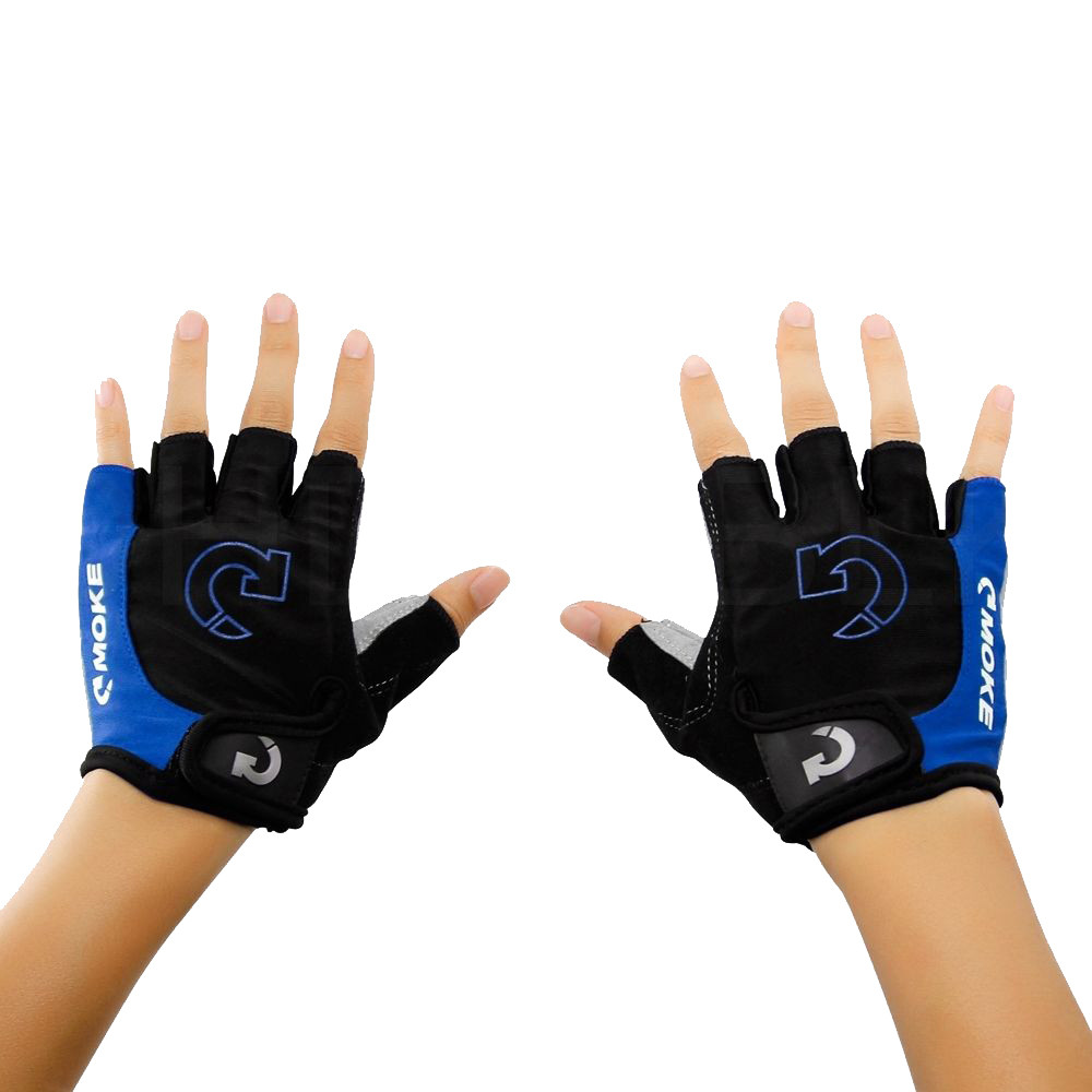 NEW Outdoor Sports Racing Cycling Motorcycle Bike Bicycle Half Finger Gloves S//L