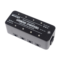Mooer Micro Power Multi Power Supply Electric Guitar Effect Pedal 8 LED Lights Stable Power Supply