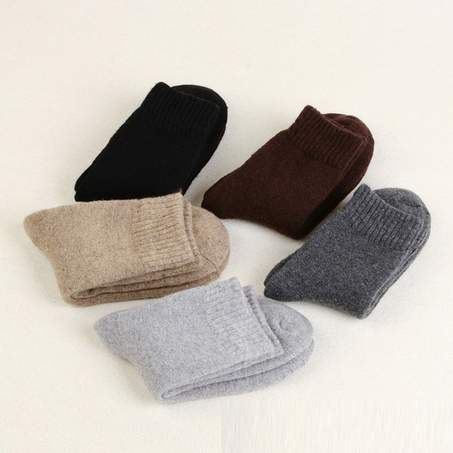 Zerlos brand high quality 2017 new autumn and winter socks men genuine thickening terry nap wool socks super warm size 41-44 Socks